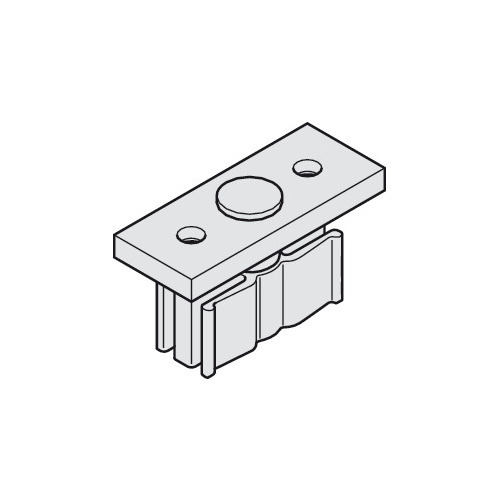 Hafele 943.04.030 Lower Guide Plate with Plastic Slider