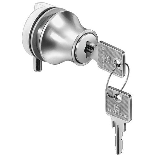 Hafele 233.05.600 Glass Door Pin Lock