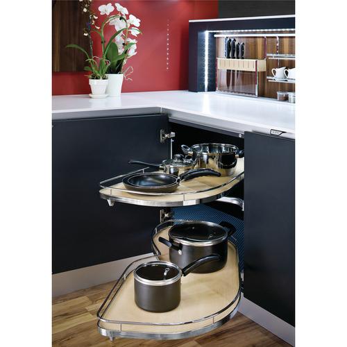 Hafele 541.32.745 LeMans II Set for Blind Corner Cabinets