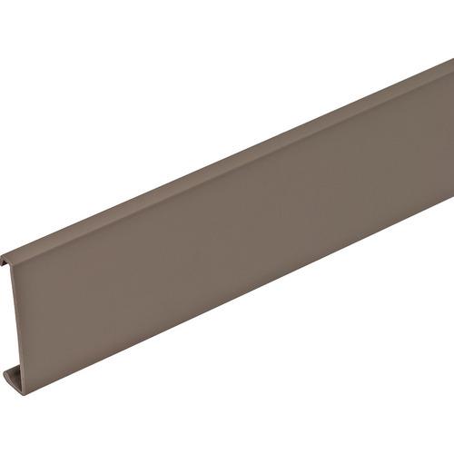 Hafele 290.12.581 Wall Rail Cover Strip for Wall Rail