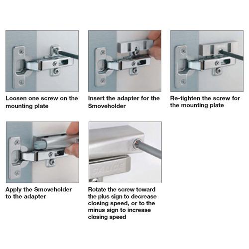 Hafele 329.45.914 Mounting Plate Adapter for Smoveholder