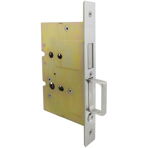 Hafele 911.26.810 Sliding/Pocket Door Lock with Edge Pull for Inactive Door