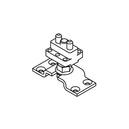 Hafele 943.51.024 Upper Pivot with Suspension Plate