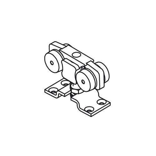 Hafele 943.51.012 Upper Running Gear with Suspension Plate