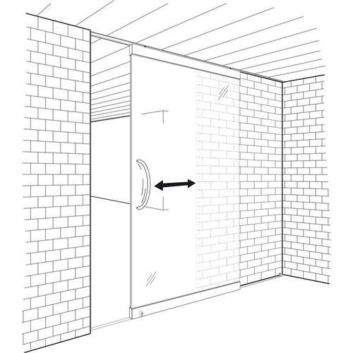 Hafele 941.60.009 Sliding door fitting