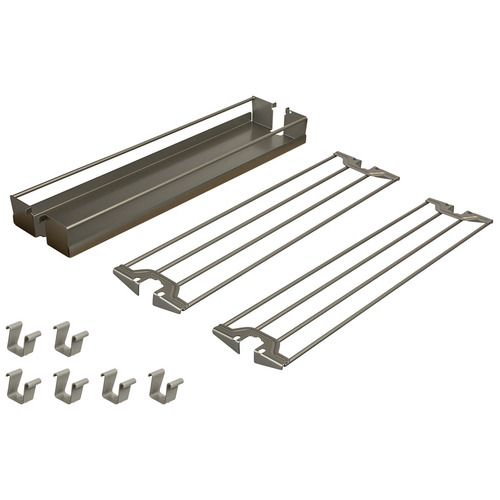 Hafele 545.09.851 Baker's Tray Organizer Set for Base Pull-Out II