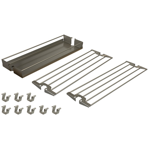 Hafele 545.09.852 Baker's Tray Organizer Set for Base Pull-Out II