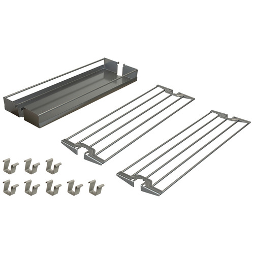 Hafele 545.09.952 Baker's Tray Organizer Set for Base Pull-Out II