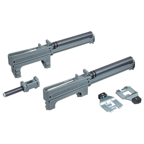 Hafele 421.50.000 Easy Close Mechanism for Top/Bottom Mounted Pull-Out Cabinet Slide