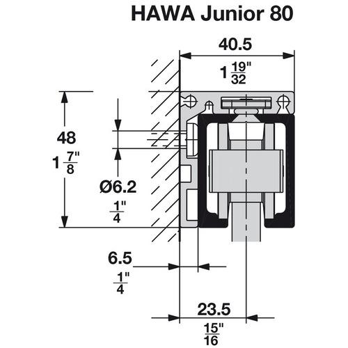 Hafele 940.80.414 Angle Profile