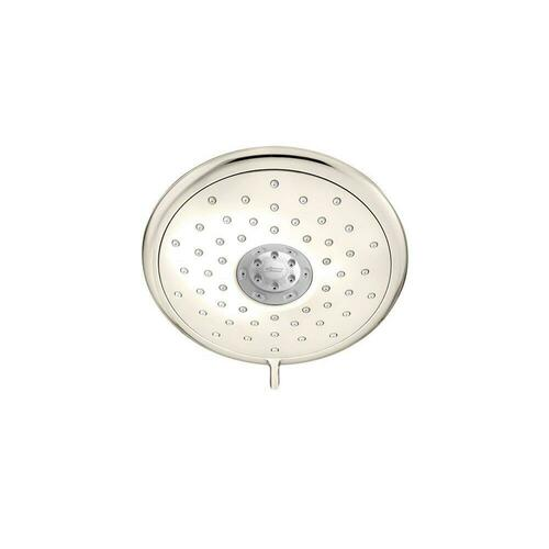 American Standard 9035074.013 Spectra+ Fixed Multi Function Drench, Sensitive, Jet and Massage Showerhead, Polished Nickel