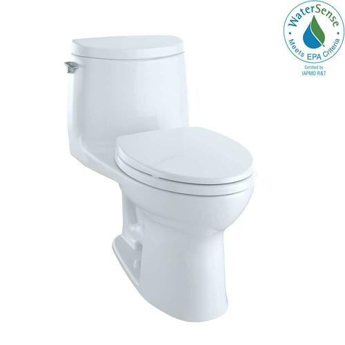 Toto MS604114CUFG#01 UltraMax II 1G 1 gpf Elongated One Piece Toilet, Cotton