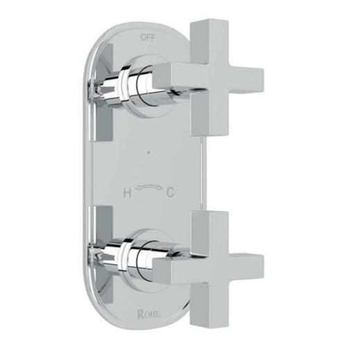 Rohl A4264XMAPC Lombardia Avanti Two Handle Bathtub & Shower Faucet, Polished Chrome