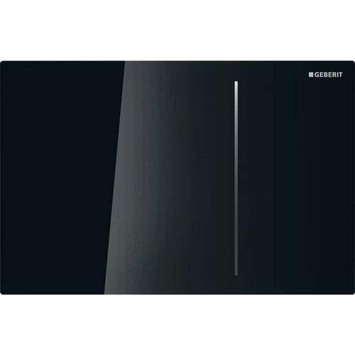 Geberit 115.625.SJ.1 Sigma70 Dual Flush Actuator, Black