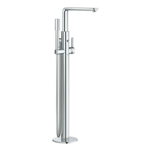 Grohe 23792001 Lineare Single Lever Handle Floor Mount Filler in StarLight Chrome Trim Only