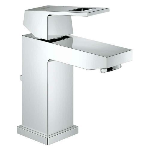 Grohe 2312900A Eurocube Single Handle Monoblock Bathroom Sink Faucet, Brushed Nickel
