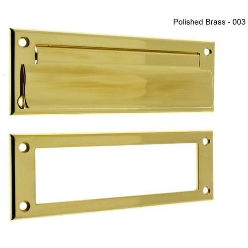 IDH 22110-003 Letter Mail Plate & Open Back Plate
