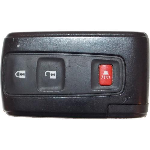 Remotes Head Keys & Remotes TOY-163 Prius 3btn Silver Logo Smart Entry L,u,p