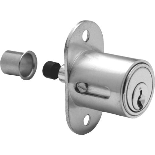 Olympus Lock 300SD-US26D-KD 7/8in Sliding Door Push Lock Natl Kwy