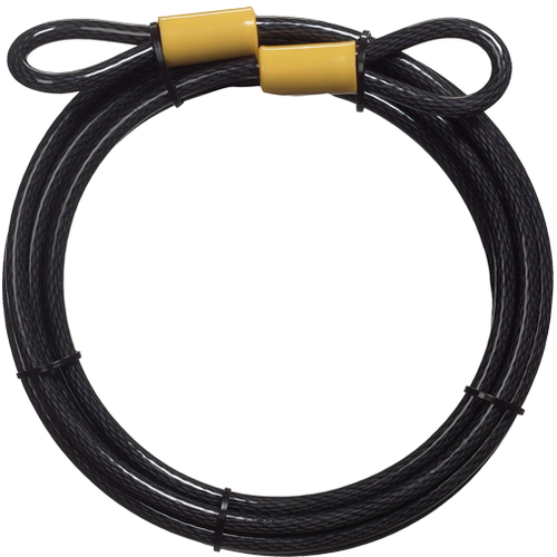Master Lock 72DPF Carded Cable Hd 15ft X 3/8in Looped End