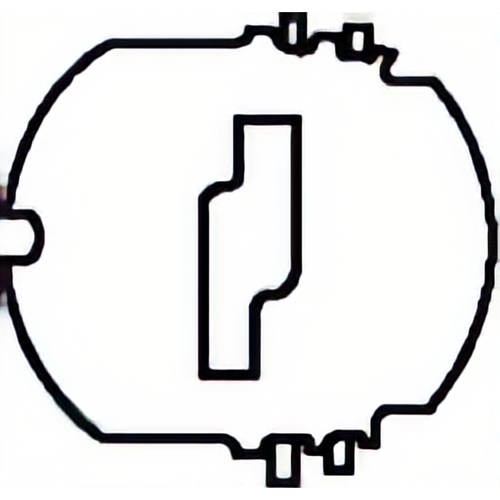 Auto Security P42-231 Shutter Assy 10-cut Door