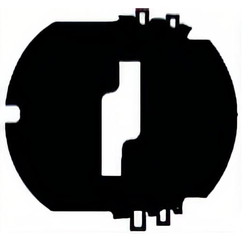Auto Security P42-232 Shutter Assy 10-cut Door Black