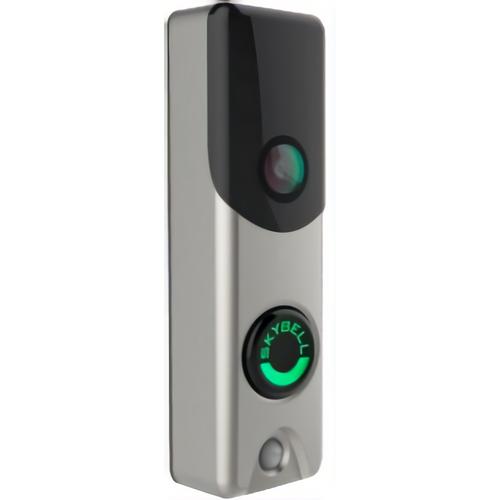 Alarm.com ADC-VDB105 Slim Line Doorbell Camera Satin Nickel