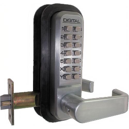 Lockey USA 2835-OB-238 Single Sided Keyless Lvr Lock Oil Bronze