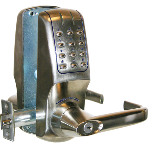 Codelocks CL5210IC BS 90 User Electronic Keypad Lever Lock