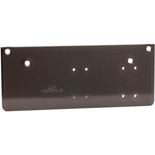 LCN 4040XP-18PA-BLACK Drop Plate, Parallel Arm, 4040 Dkbrz