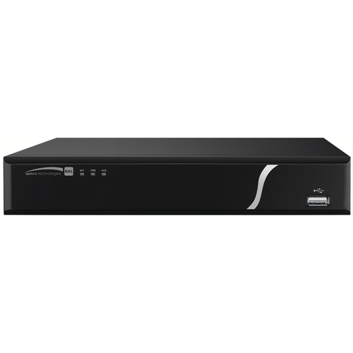Speco N8NXP4TB 8 Channel Nvr With Poe 4tb 200mbps 4k