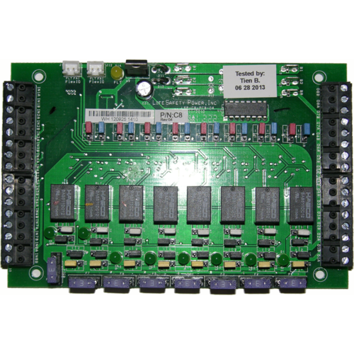Lifesafety Power C8 8 Relay Lock Control Outputs Fused At 3a