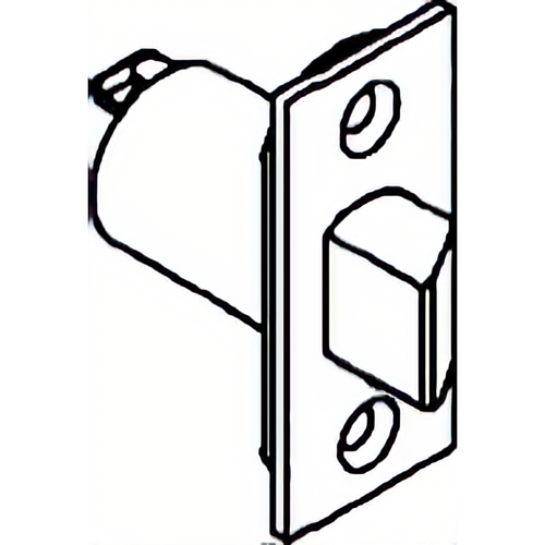Parker Hardware I9302 US32D Privacy Spring Latch 2 3/8in