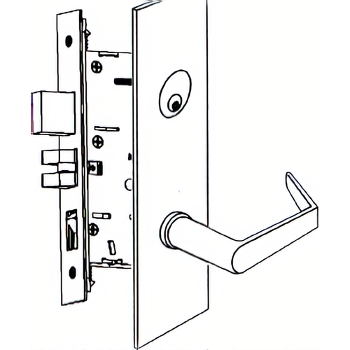 Marks Hardware 5CP92FD/32D Kit - Apartment American Lever Capitol