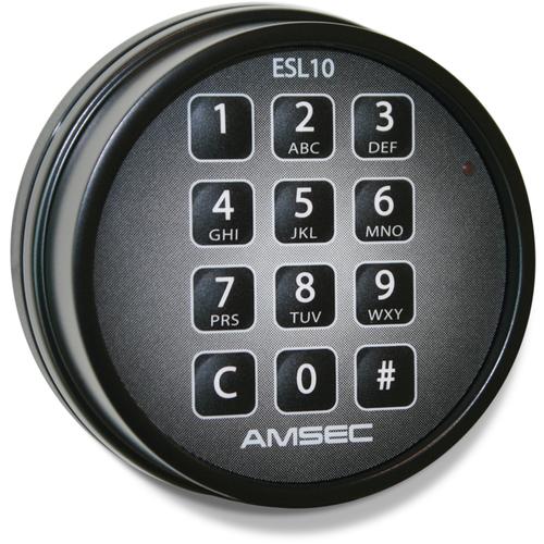 Amsec 0625058 Esl10xl Keypad Black