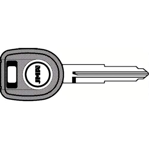 JMA MIT17A-PT Transponder Key Mitsubishi