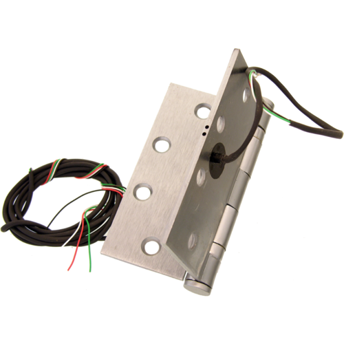 Command ETH6WH454-5/26D 5FT LEAD 4.5in X 4.5in 6-wire Electric Hinge