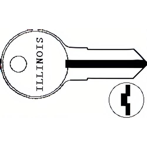 Illinois Lock 105P Illinois Key 00