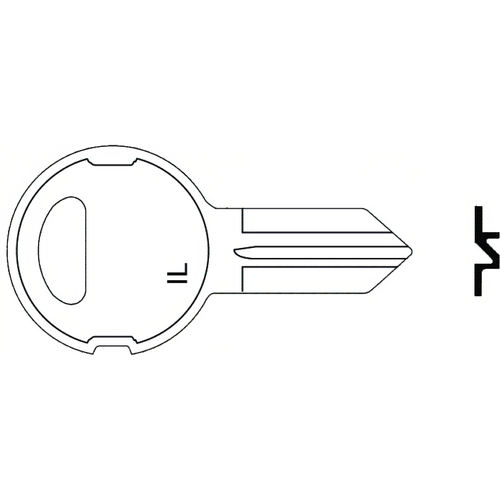 Illinois Lock 210M Illinois Key S1042zm