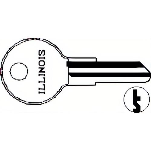 Illinois Lock 260P Illinois Key 1043d