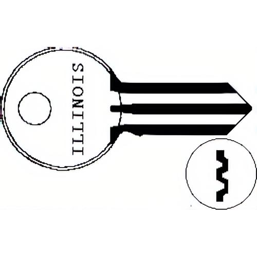 Illinois Lock 310P Illinois Key 1041p