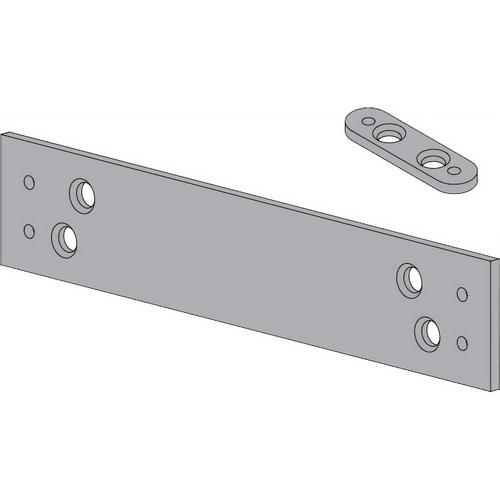 LCN 1260-18QF-AL Mtg Plate, Quick Fix, 1260 Alum