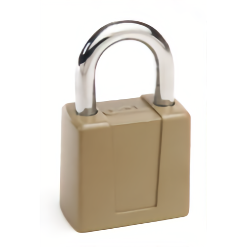 CCL 66R-KD Disc Tumbler Padlock With Tag-kd 2-3/4