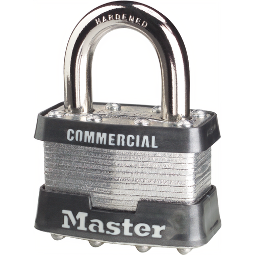 Master Lock 5KA2369 Padlock Boxed 1-1/2in Shackle