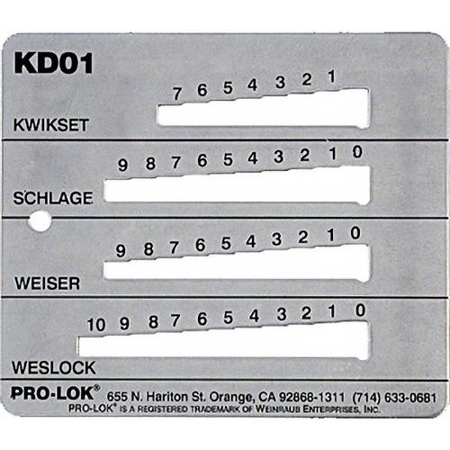 Pro-Lok KD1 Decoder Kwi-sch-wes-wei