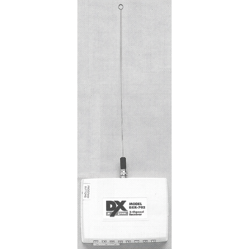 Linear DXR-702 2ch Receiver 32-xmit Capacity