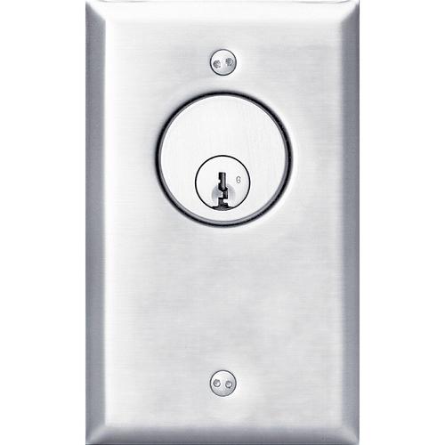 Security Door Controls 702U-6 AMP 1 Momentary Spdt Key Switch
