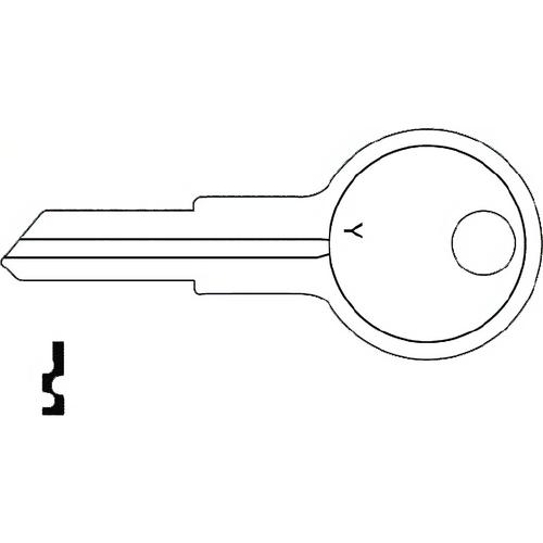 JET Y13 Yale Key O1122r
