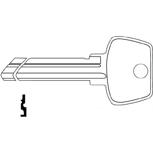 JET S22 1/2 Sargent Key 1007la 275la