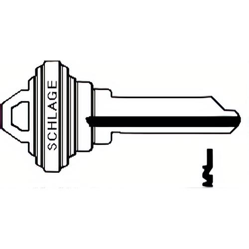 Schlage 35-056F Lock Key Blank